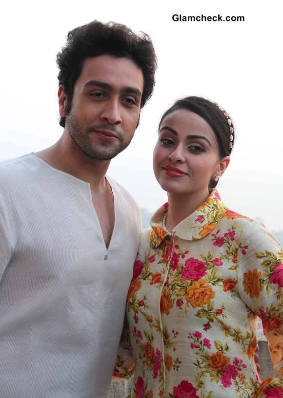 Adhyayan Suman and Ariana Ayam