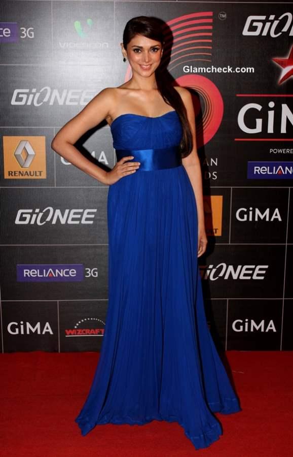 Aditi Rao Hydari 2014 at the Global Indian Music Academy Awards