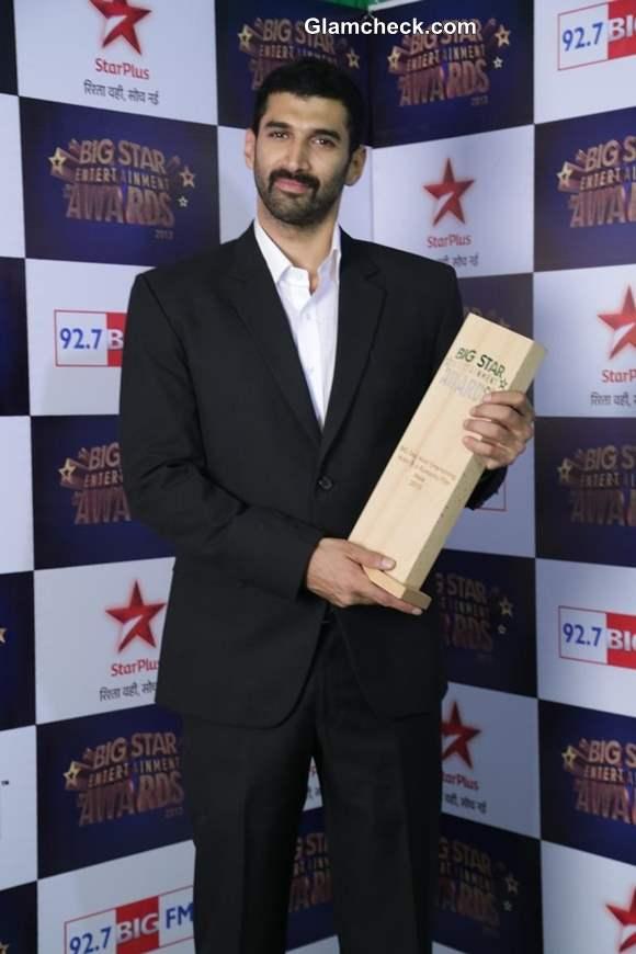 Aditya Roy Kapur at Big Star Entertainment Awards 2013