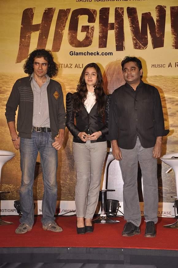 Alia Bhatt Turns Singer for Highway