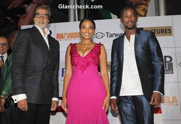 Amitabh Bachchan at India Premiere of Mandela Long Walk to Freedom