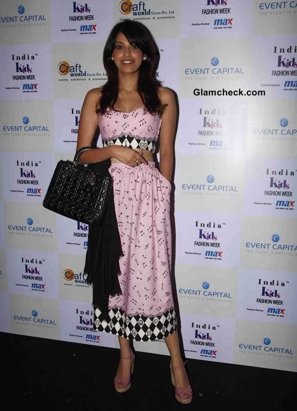 Anushka Ranjan at India Kids Fashion Week 2014