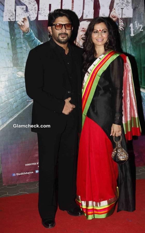 Arshad Warsi along with his wife Maria Goretti