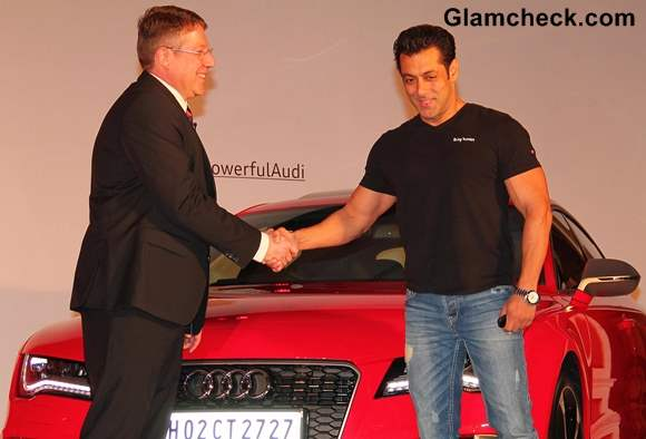 Audi RS 7 Sportback Launch Salman Khan