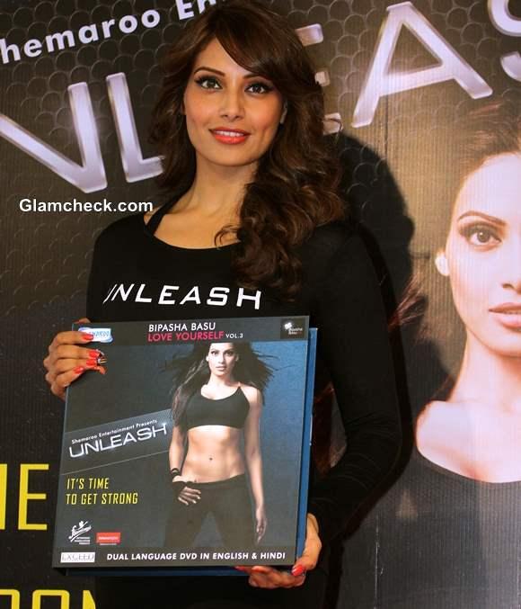 Bipasha Basu Launches 3rd Fitness DVD Unleash