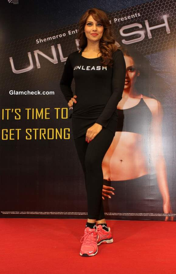 Bipasha Basu at 3rd Fitness DVD Unleash Launch