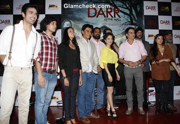 Cast of Darr @ The Mall Launches First Look in Mumbai