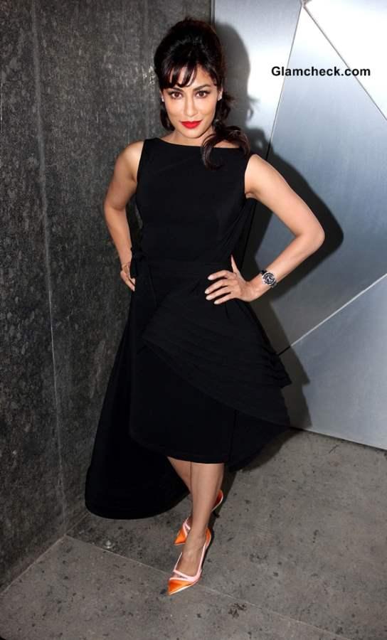 Chitrangada Singh 2014 Black Dress