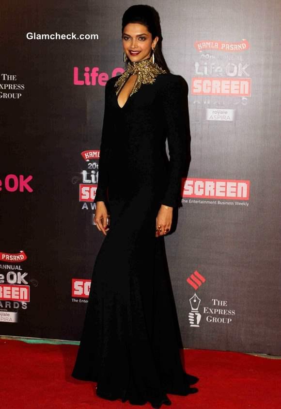 Deepika Padukone 2014 Annual Life OK Screen Awards