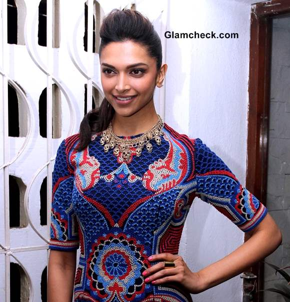 Deepika Padukone 2014 at the launch of Stardust cover