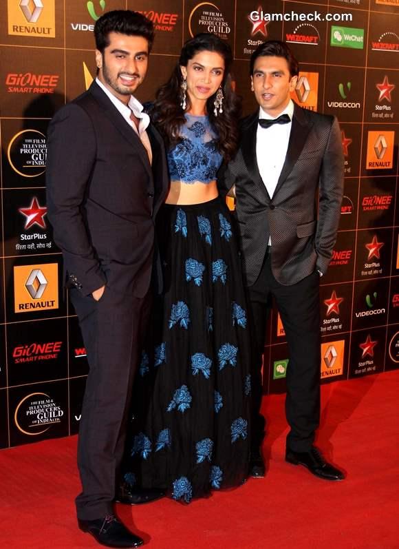 Deepika Padukone at the 9th Star Guild Awards