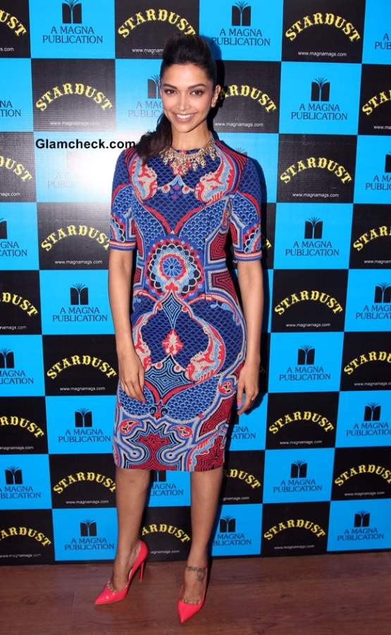 Deepika Padukone at the launch of Stardust January 2014
