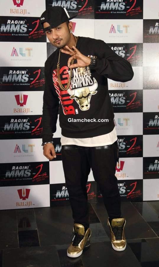 Honey Singh Shoots Chaar Bottle Vodka for Ragini MMS 2