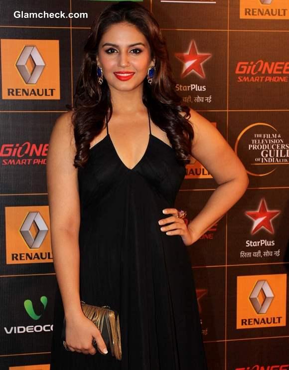 Huma Qureshi 2014 at the 9th Star Guild Awards