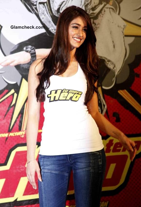 Ileana DCruz 2014  at Main Tera Hero Trailer Launch