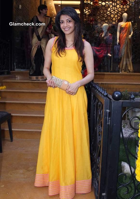 Kajal Agarwal at Hue Store Launch in Mumbai