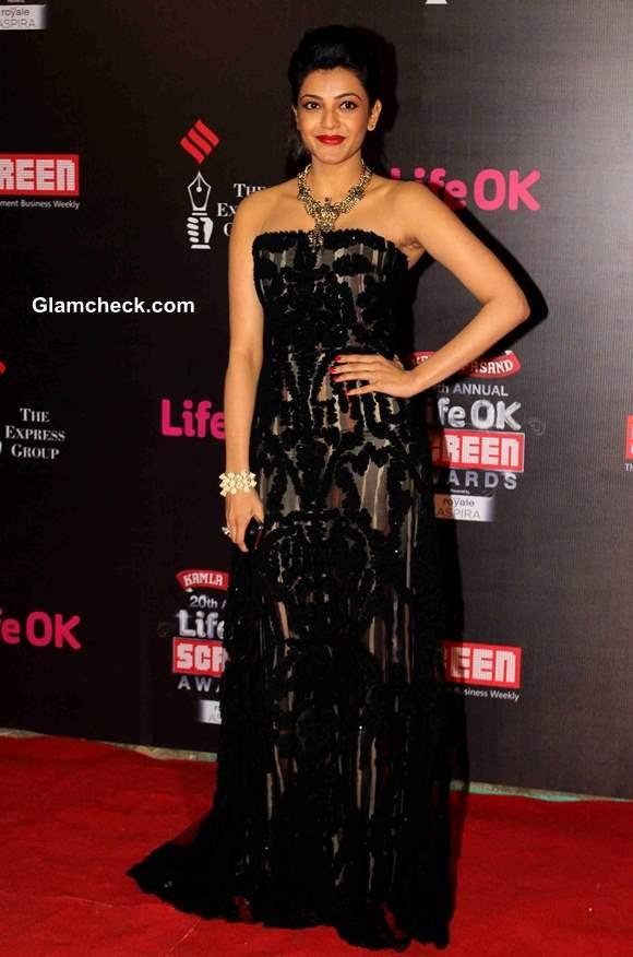Kajal Aggarwal 2014 Annual Life OK Screen Awards