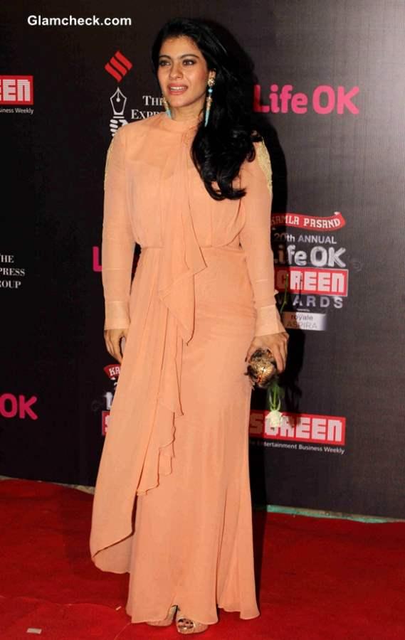 Kajol Devgan 2014 Annual Life OK Screen Awards