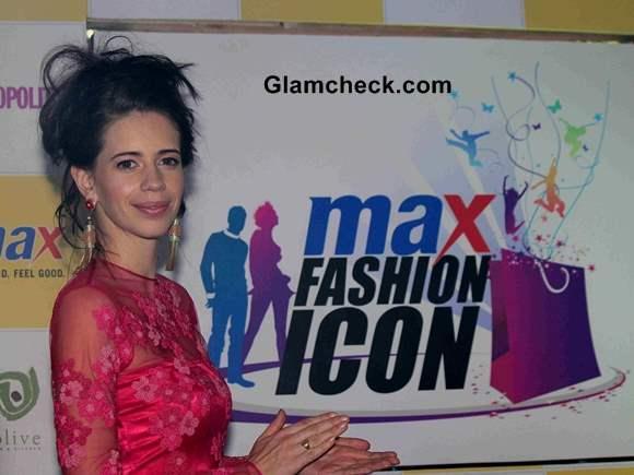 Kalki Koechlin Announces Max Fashion icon 2014