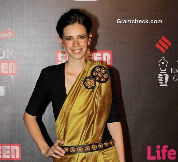 Kalki Koechlin at Annual Life OK Screen Awards 2014
