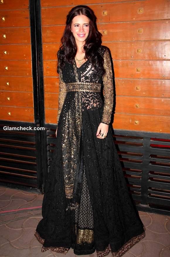 Kalki Koechlin at Filmfare Awards 2014