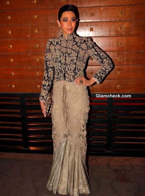 Karisma Kapoor at Filmfare Awards 2014