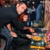MS Dhoni Launches Sapna Bhavnanis Mad-O-Wat Salon in Mumbai
