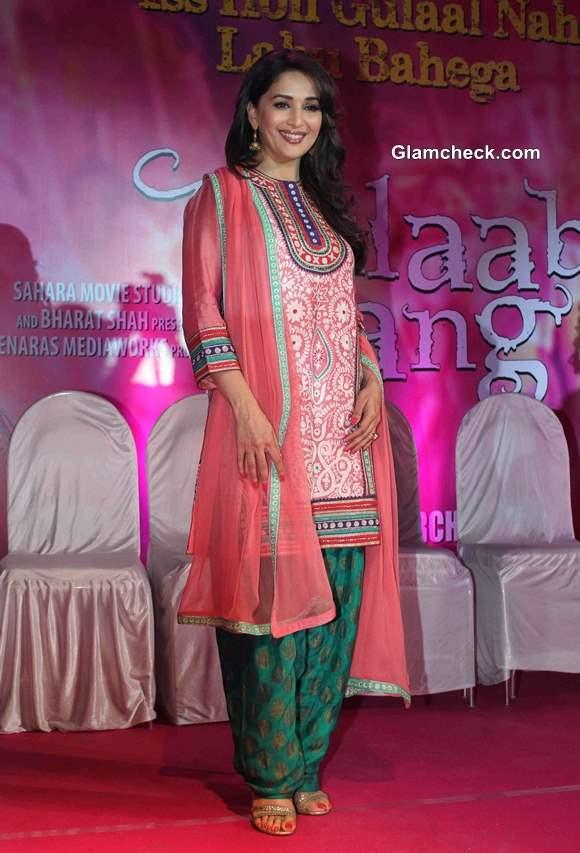 Madhuri Dixit at Gulaab Gang Trailer Launch