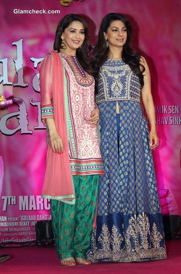 Madhuri and Juhi in Gulaab Gang
