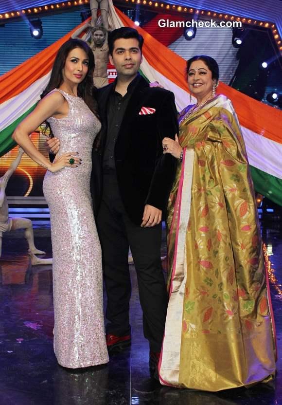 Malaika Karan and Kirron judges at  Indias Got Talent – Season 5