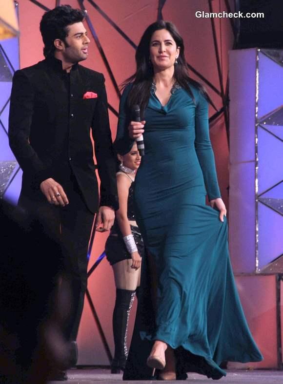 Manish Paul and Katrina Kaif at Umang 2014