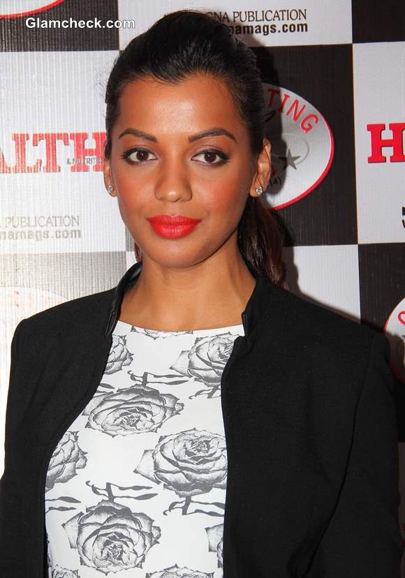 Mugdha Godse at Health and Nutrition Cover Launch