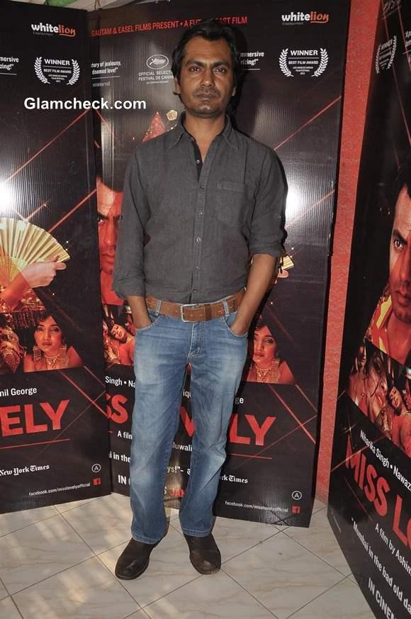 Nawazuddin Siddiqui Promotes Miss Lovely in Mumbai