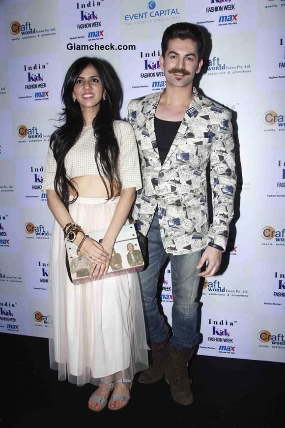 Neil Nitin Mukesh and Fashion Designer Nishka Lulla