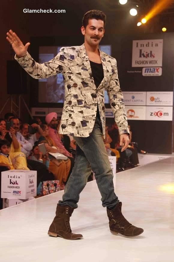 Neil Nitin Mukesh at India Kids Fashion Week - Day 2