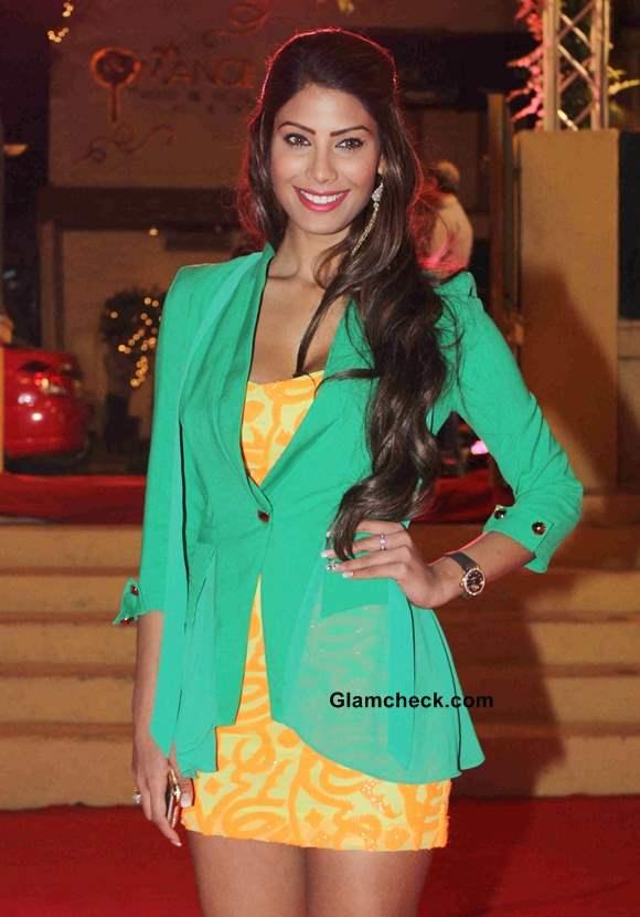 Nicole Faria 2014 at Yaariyan Success Party