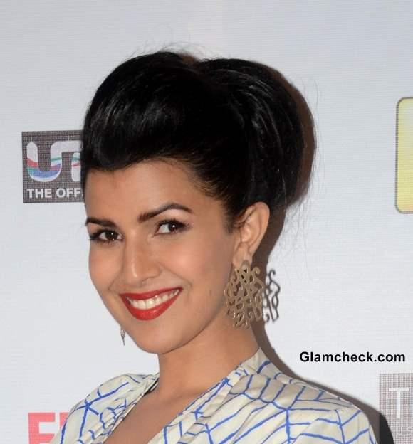 Nirmit Kaur Hair and Makeup at the 59th Idea Filmfare Pre-awards Party