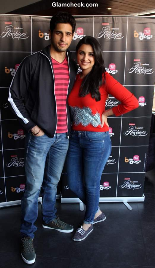 Parineeti and Siddharth in Hasee Toh Phasee