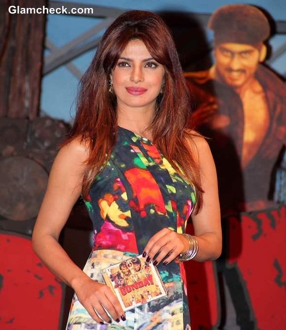 Priyanka Chopra 2014 Gunday Music Launch