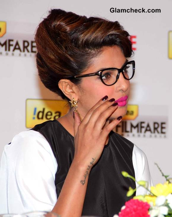 Priyanka Chopra 59th Idea Filmfare Awards 2013