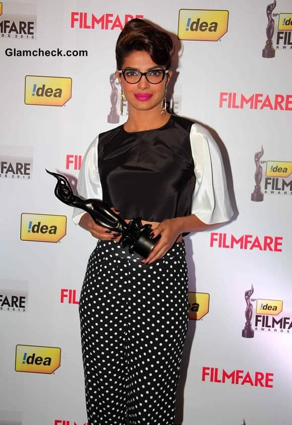 Priyanka Chopra Style 59th Idea Filmfare Awards 2013