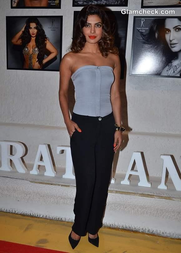 Priyanka Chopra at Launch of Daboo Ratnanis Annual Calendar 2014