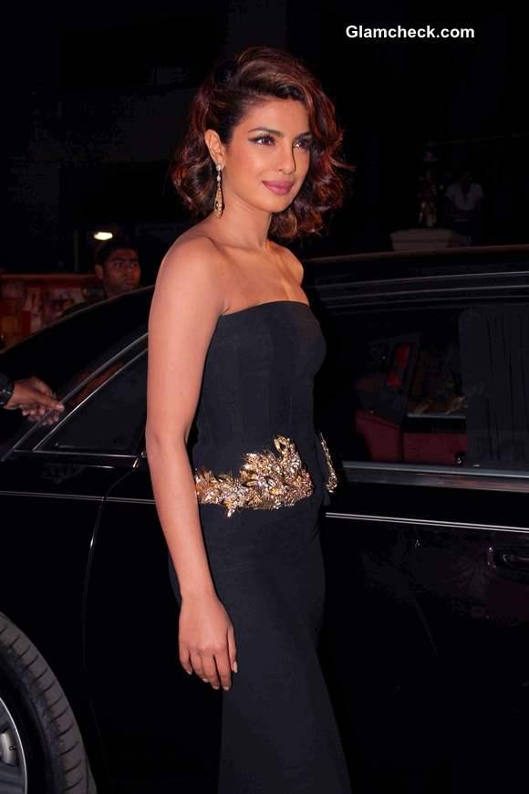 Priyanka Chopra in Alexander McQueen At Filmfare Awards 2014