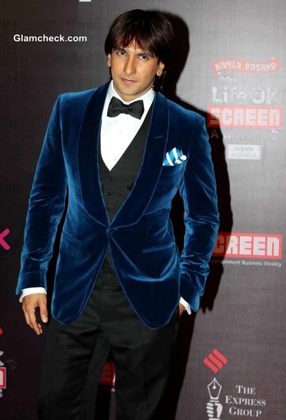 Ranveer Singh at Life OK Awards