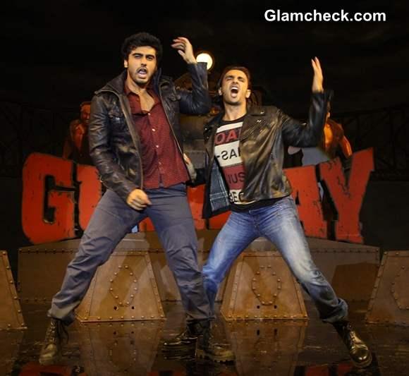 Ranvir Singh and Arjun Kapoor at Gunday Music Launch