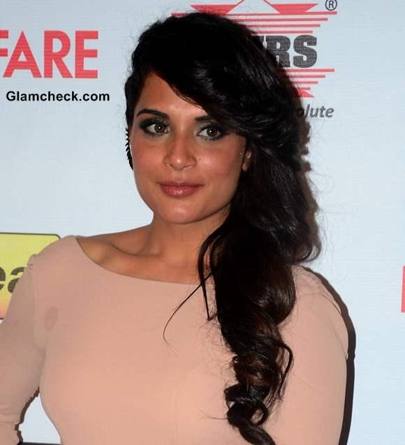 Richa Chaddaha Hair and Makeup at the 59th Idea Filmfare Pre-awards Party