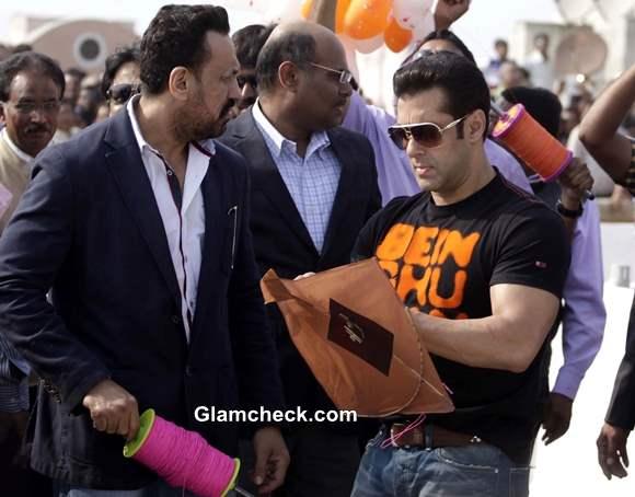 Salman Khan Flies Kites on Makar Sankrant