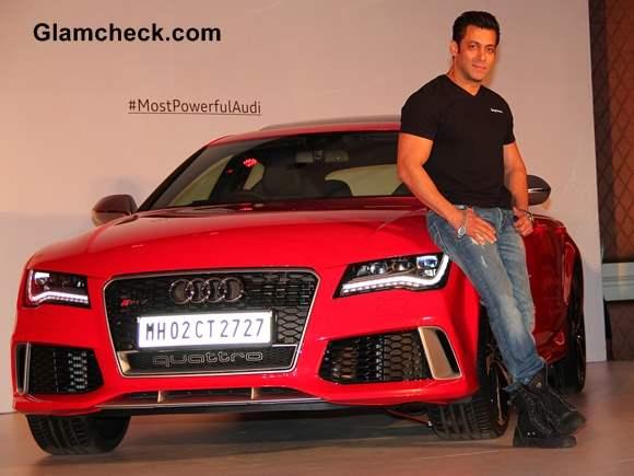 Salman Khan Launches Audi RS 7 Sportback