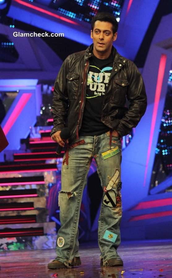 Salman Khan Promotes Jai Ho on Nach Baliye 6