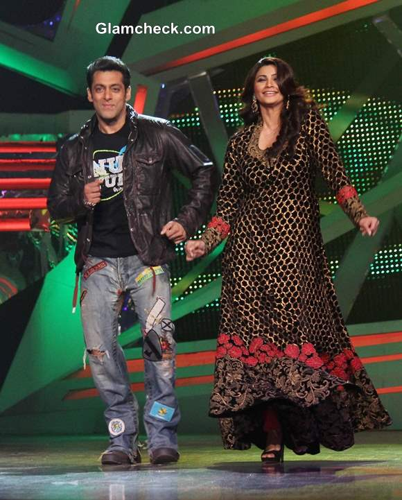 Salman Khan and Daisy Shah Promote Jai Ho Nach Baliye 6